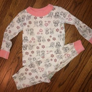 Hanna Andersson Size 80 Frozen Pajamas